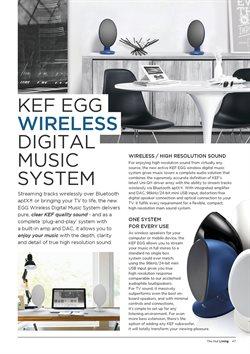 Promoção de Smart TV no folheto de The Hut International em São Paulo
