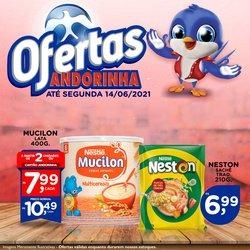 Ofertas de Supermercados no catálogo Andorinha Hipermercado (  Vence hoje)