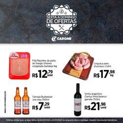 Ofertas de Supermercados no catálogo Carone (  Vence hoje)