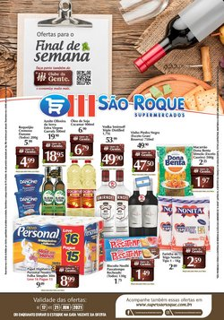 Ofertas de Supermercados no catálogo São Roque Supermercados (  Vence hoje)