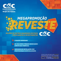 Ofertas de Material de Construção no catálogo C&C (  10 dias mais)