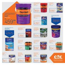 Ofertas de Suvinil no catálogo C&C (  10 dias mais)