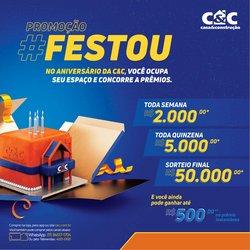 Ofertas de Material de Construção no catálogo C&C (  Válido até amanhã)