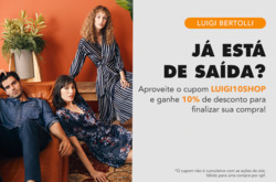 Promoção de Luigi Bertolli no folheto de São Paulo