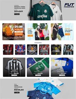 Ofertas Esporte e Fitness no catálogo Fut Fanatics em Santos ( 4 dias mais )