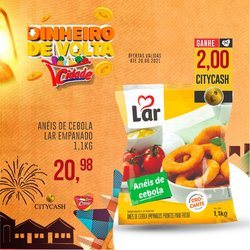 Ofertas de Cidade Supermercados no catálogo Cidade Supermercados (  Vence hoje)