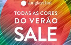 Promoção de Sunglass Hut no folheto de São Paulo