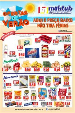 Promoção de Maktub Supermercados no folheto de Mogi das Cruzes