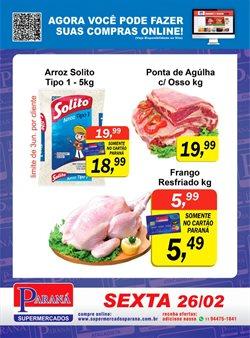 Catálogo Supermercados Paraná ( Vence hoje )