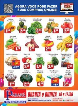 Ofertas de Supermercados Paraná no catálogo Supermercados Paraná (  Publicado ontem)