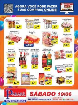 Ofertas de Supermercados no catálogo Supermercados Paraná (  Vence hoje)