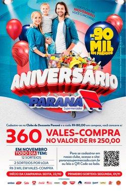 Catálogo Supermercados Paraná (  2 dias mais)