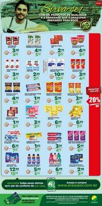 Ofertas de Araújo Supermercados no catálogo Araújo Supermercados (  Válido até amanhã)