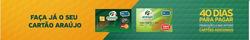 Promoção de Araújo Supermercados no folheto de Rio Branco