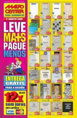 Ofertas Material de Construção no catálogo Mauro Center em São Paulo ( 24 dias mais )