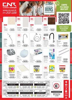 Ofertas Material de Construção no catálogo CNR em Belo Horizonte ( Válido até amanhã )