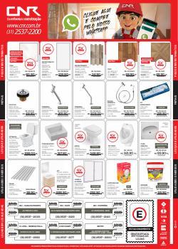 Ofertas de Material de Construção no catálogo CNR (  Vence hoje)