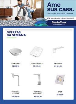 Ofertas Material de Construção no catálogo Santa Cruz Acabamentos em Betim ( Publicado a 3 dias )