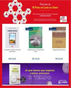 Ofertas Livraria, Papelaria e Material Escolar no catálogo Paulinas em Mauá ( Vence hoje )