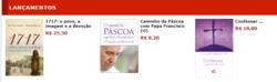 Promoção de Livraria, papelaria, material escolar no folheto de Paulinas em Mauá