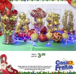 Promoção de Casa Freitas no folheto de Fortaleza