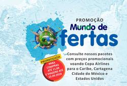 Promoção de Visual Turismo no folheto de São Paulo