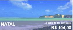 Promoção de Viagens, passeios, turismo no folheto de Visual Turismo em Lauro de Freitas