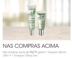 Promoção de Caudalie no folheto de São Paulo