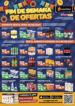 Ofertas de Supermercados no catálogo Pais e Filhos Supermercados (  Válido até amanhã)