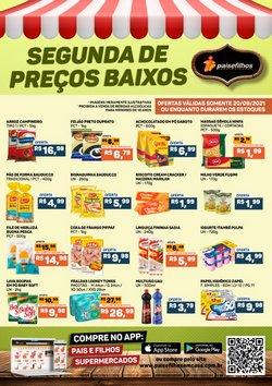Ofertas de Supermercados no catálogo Pais e Filhos Supermercados (  Vence hoje)