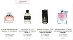 Promoção de Lord Perfumaria no folheto de Brasília