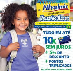 Promoção de Nivalmix no folheto de Diadema