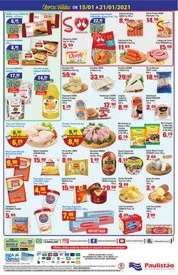 Ofertas de Manteiga em Paulistão Supermercados
