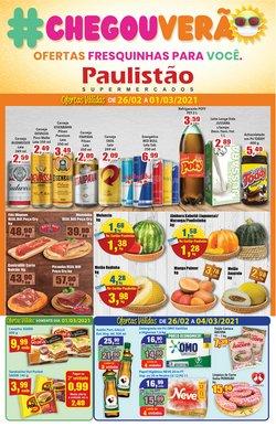 Ofertas Supermercados no catálogo Paulistão Supermercados em Indaiatuba ( 3 dias mais )