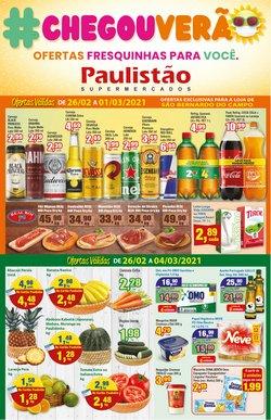Ofertas Supermercados no catálogo Paulistão Supermercados em Mauá ( Vence hoje )