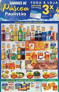 Catálogo Paulistão Supermercados ( Vencido )