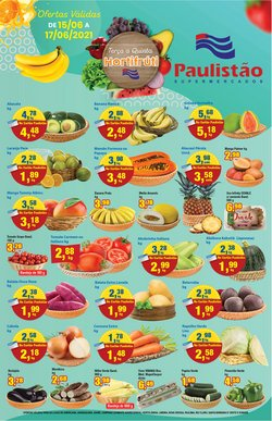 Ofertas de Paulistão Supermercados no catálogo Paulistão Supermercados (  Publicado ontem)