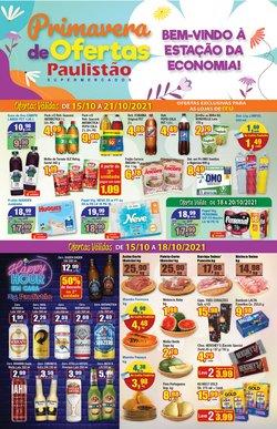 Ofertas de Supermercados no catálogo Paulistão Supermercados (  Vence hoje)