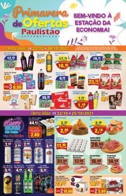 Catálogo Paulistão Supermercados (  Publicado ontem)