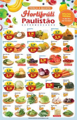 Ofertas de Paulistão Supermercados no catálogo Paulistão Supermercados (  Vence hoje)
