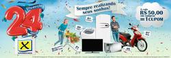 Promoção de X Supermercados no folheto de Muriaé