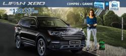 Promoção de Automóveis no folheto de Lifan Motors em Recife