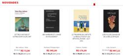 Promoção de Livraria, papelaria, material escolar no folheto de Livraria Francesa em São Bernardo do Campo
