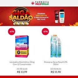 Catálogo Farmácia Preço Popular (  3 dias mais)