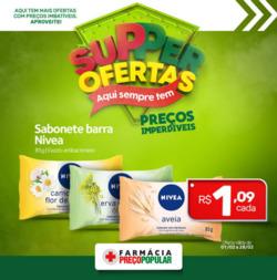 Promoção de Farmácia Preço Popular no folheto de Curitiba