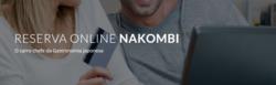 Promoção de Nakombi no folheto de São Paulo