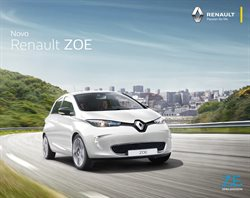 Promoção de Automóveis no folheto de Renault em Alvorada
