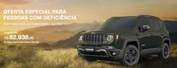 Promoção de Jeep no folheto de São Paulo
