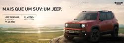 Promoção de Automóveis no folheto de Jeep em Camaçari