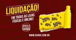 Promoção de Garbo no folheto de Campinas